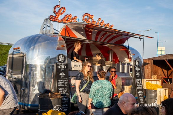 A food truck at Food Truck Festival 2018 Silverdome Zoetermeer