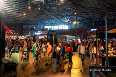 Inside the Silverdome the festival continues