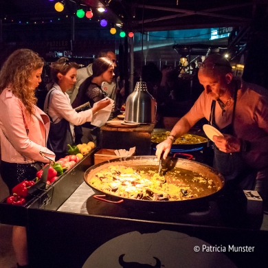 Paella at Food Truck Festival 2018 Silverdome Zoetermeer