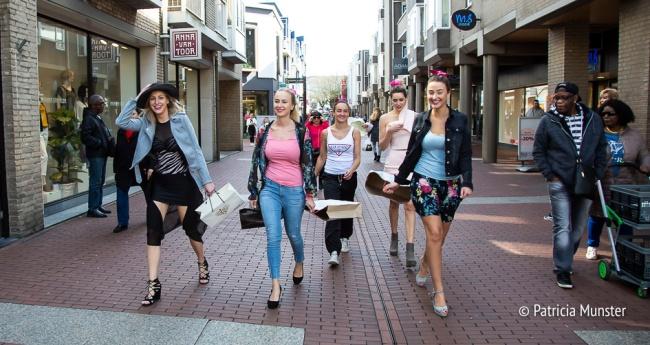 Op weg naar de modeshow