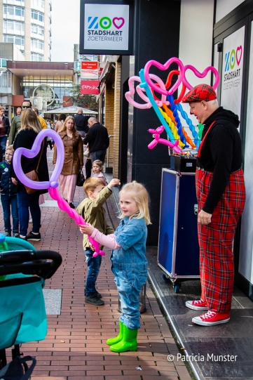 Ballonnen in het Stadshart