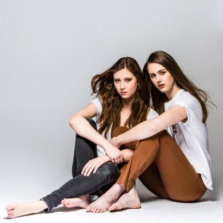 Julia & Nadine poses for my camera - Styling Kevin Kolo - Make up Emmy Preemen & Hayat Bee