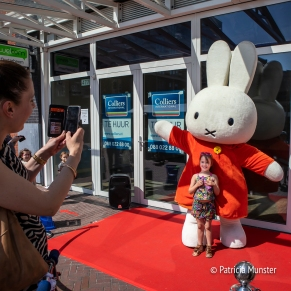 Being captured with Miffy