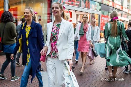 De modeshow van het Glamourfestival 2018