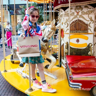 Het jongste model voor Vingino in de carousel