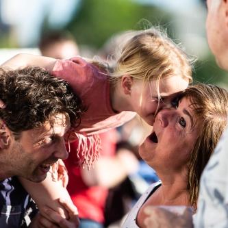 Happy faces op bevrijdingsfestival Zoetermeer