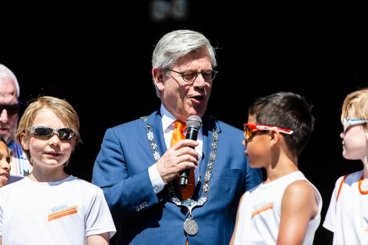 Charlie Aptroot, de burgemeester van Zoetermeer