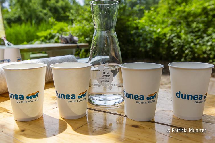 Verfrissend water van Dunea