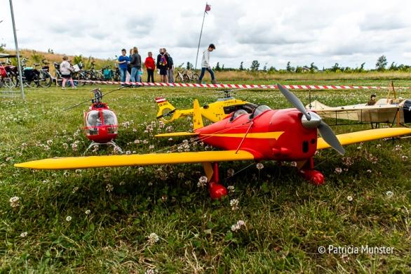 Modelvliegtuigen van modelvliegclub GMVC