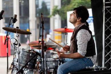 Drummer van de Stolling Rones
