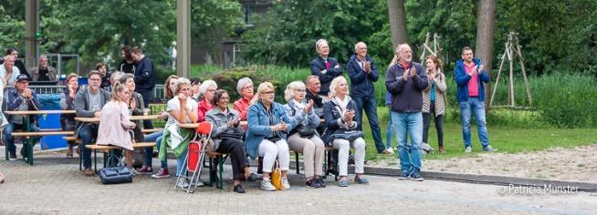Publiek op het Nicolaasplein
