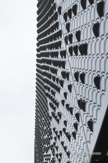 Detail stalen balkon