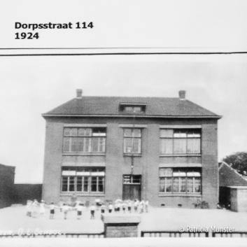 Een van de eerste scholen in Zoetermeer