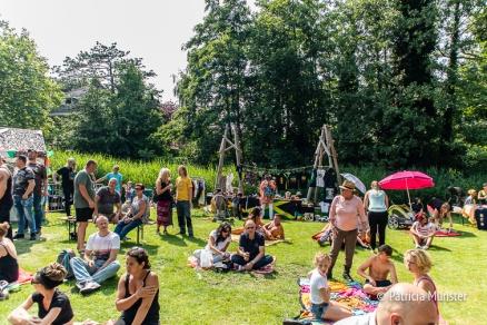 Chillen bij het Rastaplas Festival
