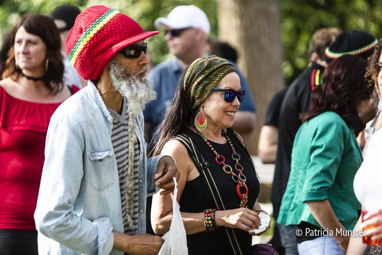 Genieten van de reggae muziek