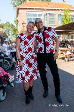 Stylish outfit bij Country en Western Festival in Dorpsstraat Zoetermeer