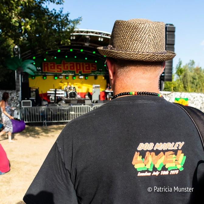 Bob Marley fan bij de Rootsriders