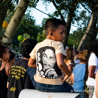 Een heel jonge Bob Marley Fan