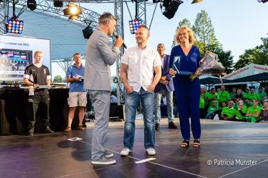 Ed Bontrop, vertegenwoordiger van Tom Molenaar en Ingeborg ter Laak