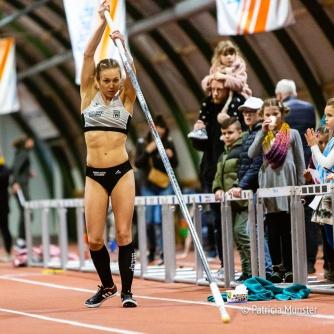 Stefanie Dauber bereidt zich voor