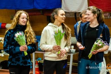 Thyra van Diemen, Kristina Tergau en Saskia van de Boor