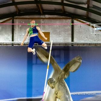 Menno Vloon is Nederlands kampioen indoor polsstokhoogspringen