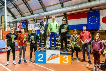Menno Vloon eerste plaats, Rutger Koppelaar tweede en Frederik Ausloos derde